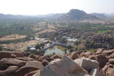 インド世界遺産のハンピ村の見どころを回ってみた(北岸郊外編)