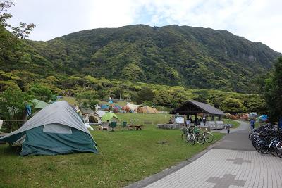 自転車テントツーリングで行く「伊豆七島 新島」