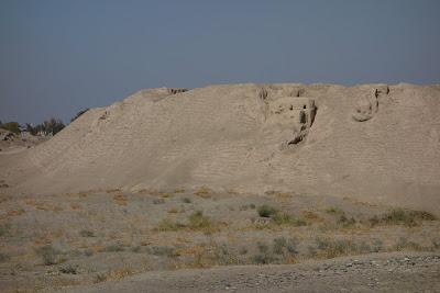 ウズベキスタン サマルカンドの旧都「アフラシアブの丘」