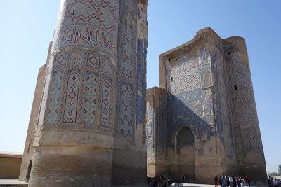 ウズベキスタン チムールの故郷「シャフリサブス」