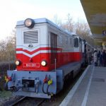 セーチェニ山からブダペスト市内を見下ろす子供鉄道
