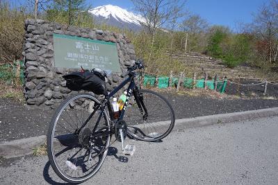 クロスバイクで行く、富士山ヒルクライム(御殿場・富士宮五合目、宝永山登山付き)