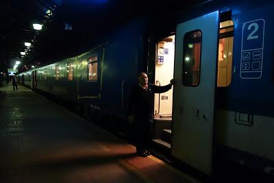 夜行列車で行くプラハ・ウィーンの旅 (EN477 METROPOL)