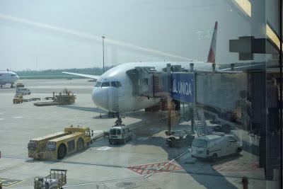 世界の機窓から「オーストリア航空直行便より東欧、シベリアの光景」