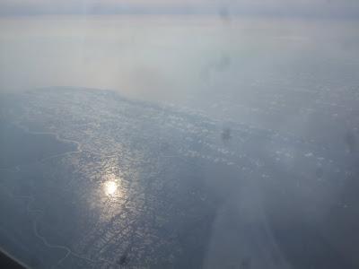 世界の機窓から「シルクエアーよりインドシナ半島の光景
