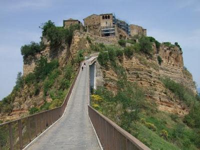 イタリアの旅「天空の村 チヴィタ・ディ・バーニョレッジョ」