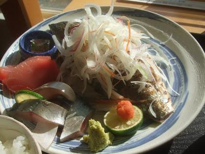 三浦半島 松輪漁港エナ・ヴィレッヂで松輪サバを食べてきた