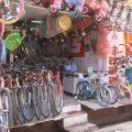 インド自転車事情-(バラナシで見る地元の自転車)