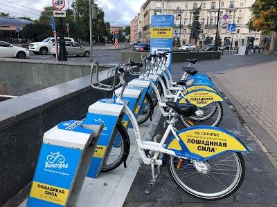 海外自転車事情(ロシア・サンクトペテルブルク)