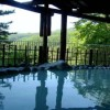 信夫高湯温泉 「花月ハイランドホテル」-露天風呂の展望は玉子湯よりも上