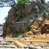 伊豆七島 式根島「松が下雅湯」-設備の整った絶景海岸の湯