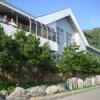 伊豆七島 神津島 「神津島温泉保養センター」-岩場を生かした海岸露天風呂が素敵