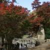 湯原温泉郷 湯原温泉「砂湯」-目の前のダムが圧巻、足元湧出の湯