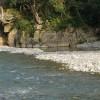 熊野 川湯温泉「河岸露天風呂」-渓流に湧く野天風呂