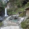 河津七滝温泉「天城荘」-大滝を堪能しながら入る露天風呂は至福
