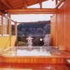 湯宿温泉 「太陽館」-宿場内唯一の露天ありの民宿